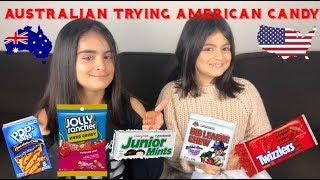 Australian Tries American Candy