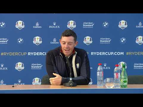 Rory McIlroy | Ryder Cup Press Conference LIVE from Le Golf National