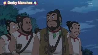 [ Doremon vietsub ]Tập 4 Chuyến phiêu lưu xuyên không thời gian Doradora Hình nộm đất sét của Nobita
