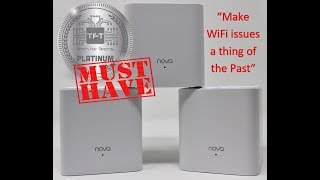 Best WiFi System Ever? Tenda Nova MW3 unboxing + review