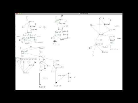 Pure Data - Random ambient music