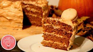 Caramel Apple Cake Recipe - Вкусный яблочный торт с карамелью