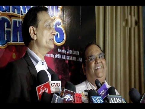 """""""Gang Of Ghosts"""" Music Launch│Interview of Satish Kaushik & Ratan Jain"""