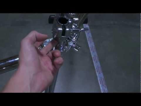 How to set up Gibraltar's GCS-450C drum rack
