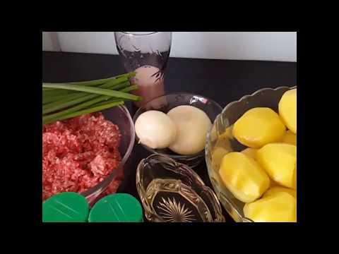 #Колдуны##Драники с мясом#Простое,вкусное блюдо из картофеля и фарша!