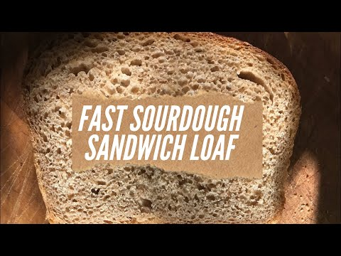 Easy Sourdough Bread Recipe {using yeast for a quick loaf}