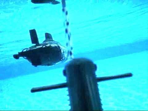 Radio Controlled Rc Submarine Pool Run Brockwell Lido