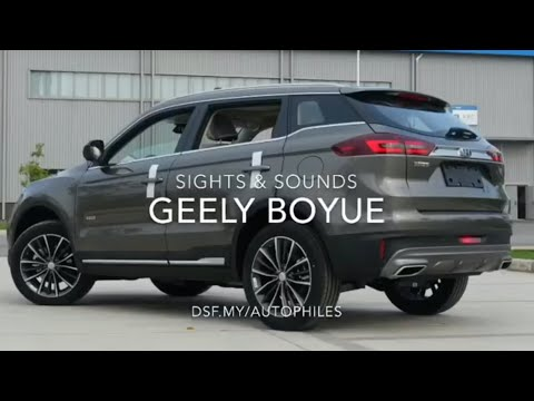 Geely Boyue Sights & Sounds