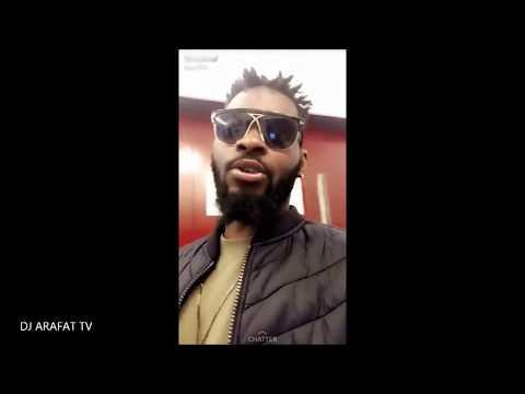 DJ ARAFAT CHEZ SKYROCK POUR SOUTENIR FALLY IPUPA/ UNE FAN ÉMUE DE CROISER DJ ARAFAT