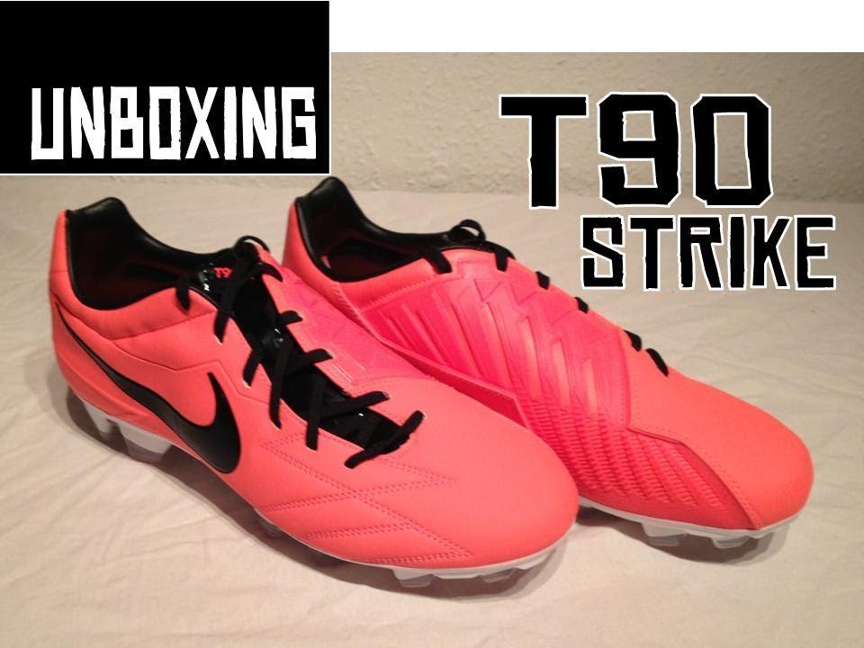 385a96e3b Nike T90 Strike IV FG - Unboxing - YouTube