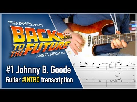 Johnny B. Goode - Back To The Future - Guitar Tutorial 1/2