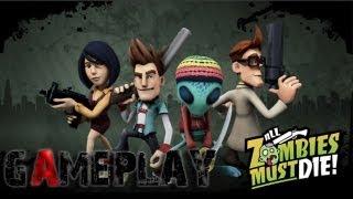 All Zombies Must Die! Gameplay (PC/HD)