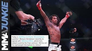 Daily Debate: Will Benson Henderson earn a Bellator lightweight title before he retires?