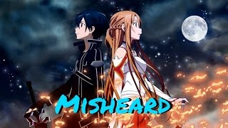 Misheard Lyrics Sword Art Online Op 1