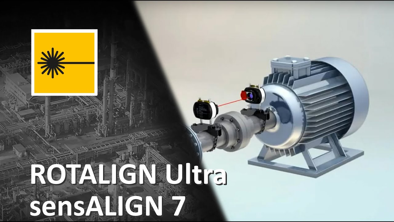 All In One Laser Machine Alignment With Rotalign Ultra Is