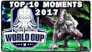 Killer Instinct World Cup 2017 TOP 10 MOMENTS
