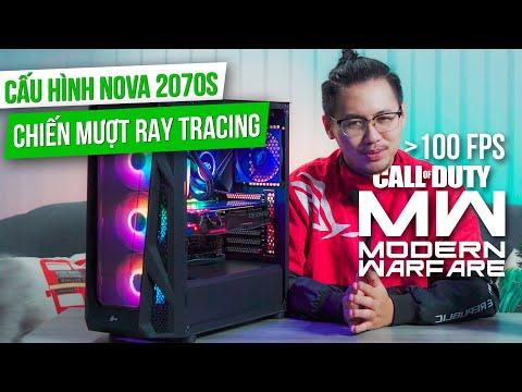 Dàn PC Chưa Đầy 32 Triệu Mà Chiến Game RAY TRACING HƠN 100 FPS  - TNC Gaming PC NOVA 2070 Super