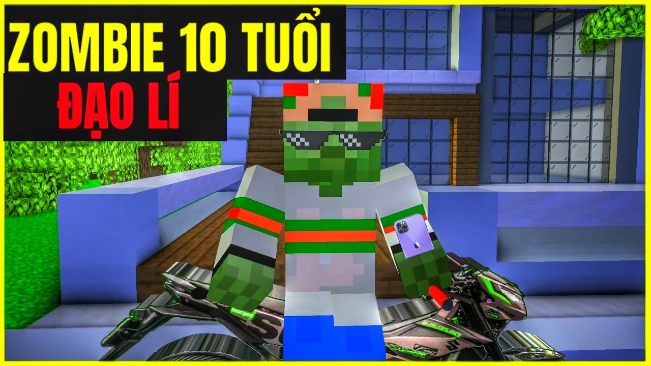 [ Video Troll ] Zombie 10 Tuổi Đã Biết Giúp Gia Đình Và Cái Kết | Minecraft Animation