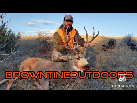 2019 Missouri Breaks Mule Deer Hunt