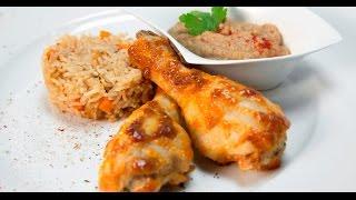 Курица — рис — грибы | Если ужин быстро нужен