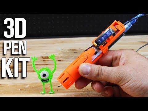 0 - 3Dsimo Kit: weltweit erster Multimaterial-Bausatz für 3D-Druckstift