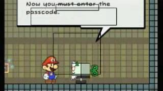 Lets Play Super Paper Mario Carrie And Secret Word