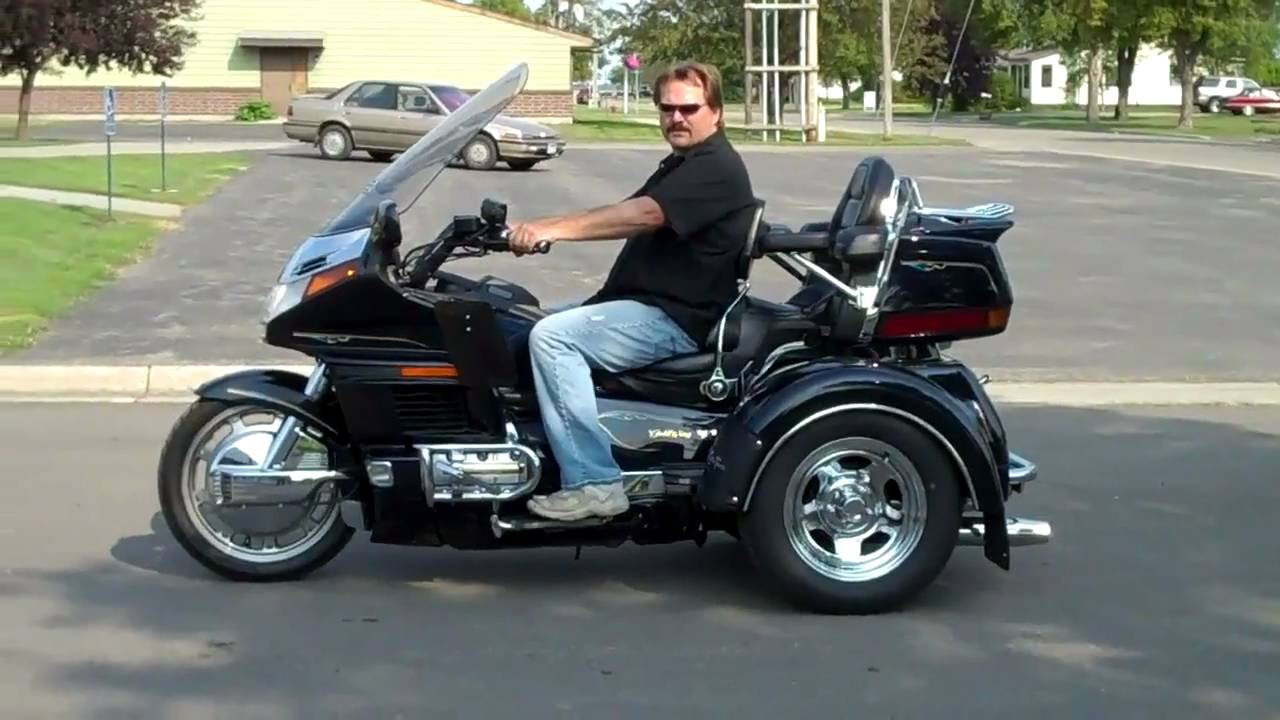1997 honda goldwing 1500 trike sold youtube. Black Bedroom Furniture Sets. Home Design Ideas
