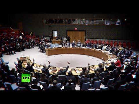 Совбез ООН единогласно принял резолюцию о режиме прекращения огня в Сирии