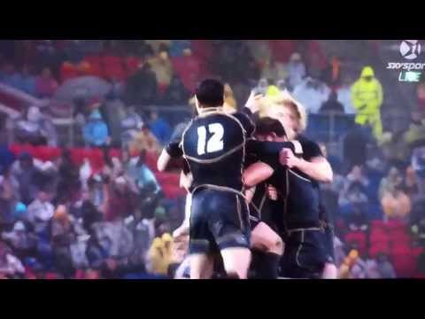 Celebrate with a Headbutt! Scotland beats australia