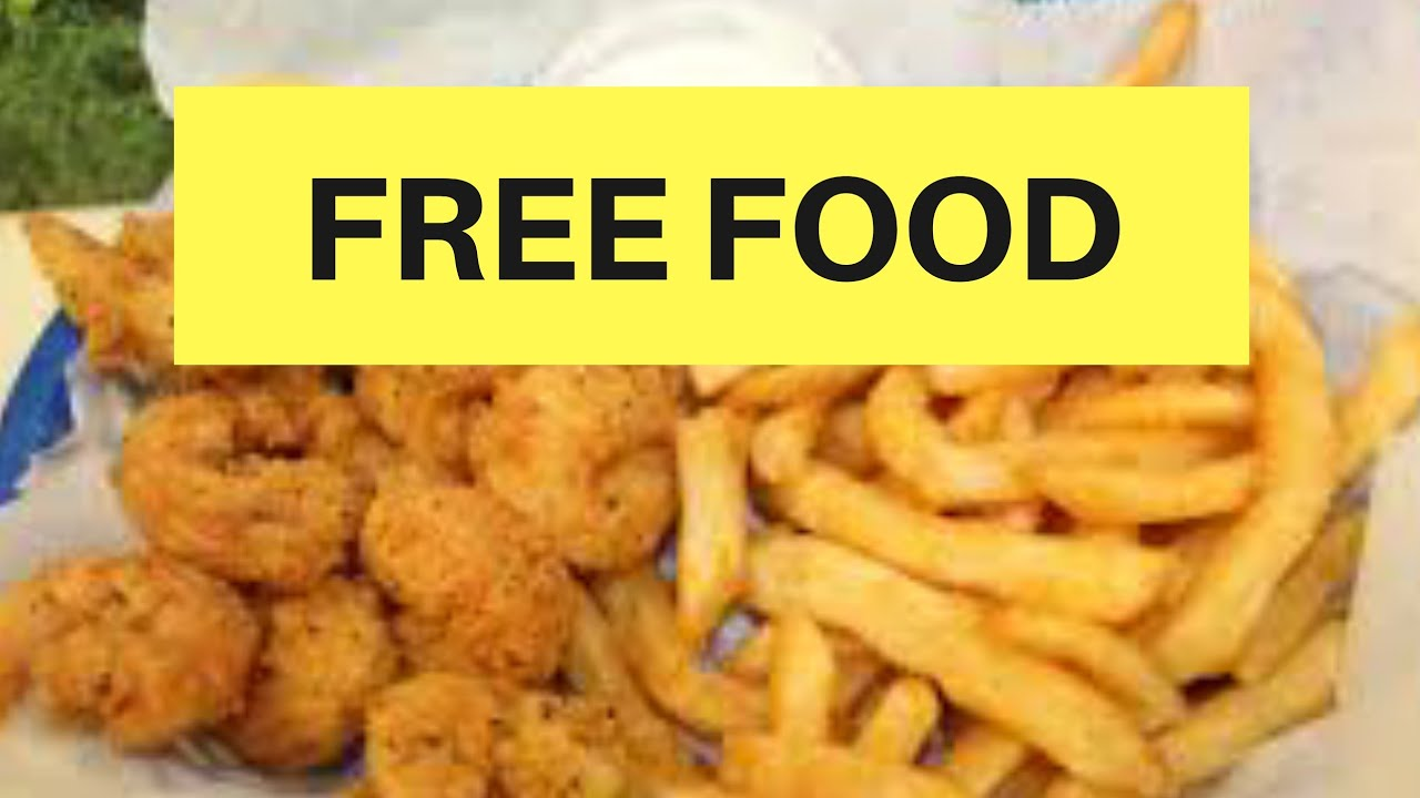 HURRY! FREE FOOD FOR MOST PEOPLE!