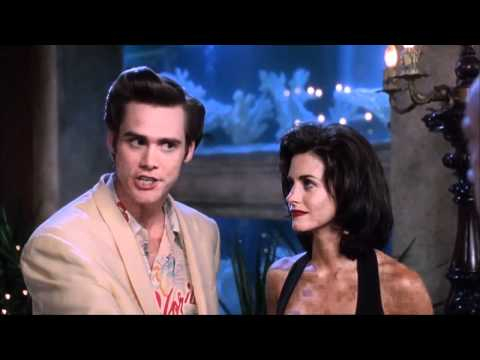 Ace Ventura: Pet Detective (Jim Carrey & Courteney Cox)