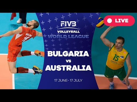 Bulgaria v Australia - Group 1: 2016 FIVB Volleyball World League