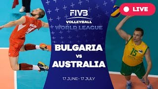 Bulgaria v Australia - Group 1: 2016 FIVB Volleyball World League(Watch the live stream of the FIVB Volleyball World League 2016 here! About the FIVB Volleyball World League 2016 With 36 teams competing across three ..., 2016-07-03T22:39:01.000Z)