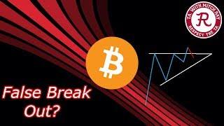 Bitcoin Live : BTC Ascending Triangle False Break Out? -  Episode 443 - Crypto Technical Analysis