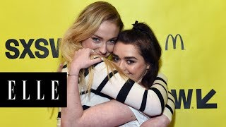 Maisie Williams and Sophie Turner's Adorable IRL Friendship | ELLE