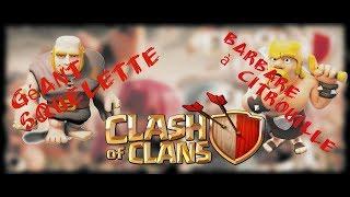 Barbare Citrouille et Géant Squelette sur Clash Of Clans