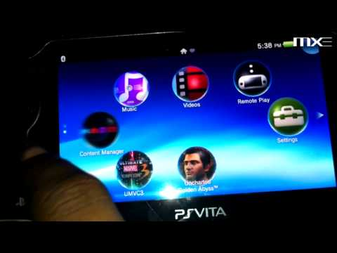 Playstation Vita: Connecting to PC & Managing Media HD