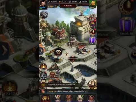 Clash Of Kings P4 Level Castle To P5 Upgrade