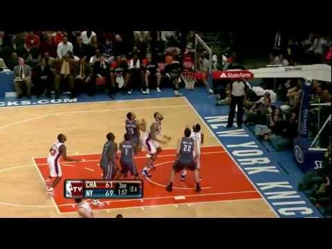 Tyson Chandler (20 points,13 rebounds) highlights vs Bobcats