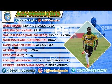 Kevin de Paula Pelé MeiaVolante Midfielder 95  U23