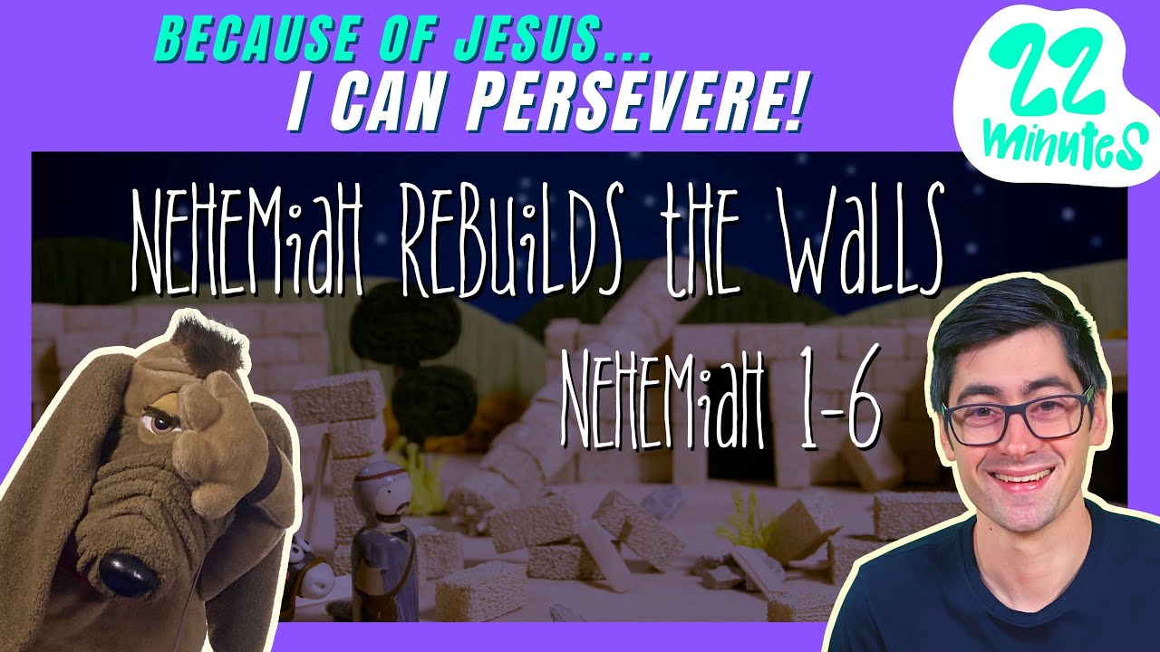 Because of Jesus, I Can PERSEVERE (Kids' Bible Lesson)