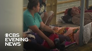 Immigrants stalled at Mexico's southern border