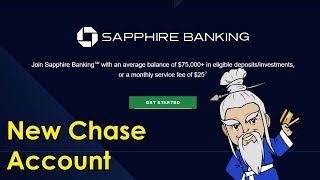 Chase Launches SAPPHIRE BANKING Premium Bank Accounts