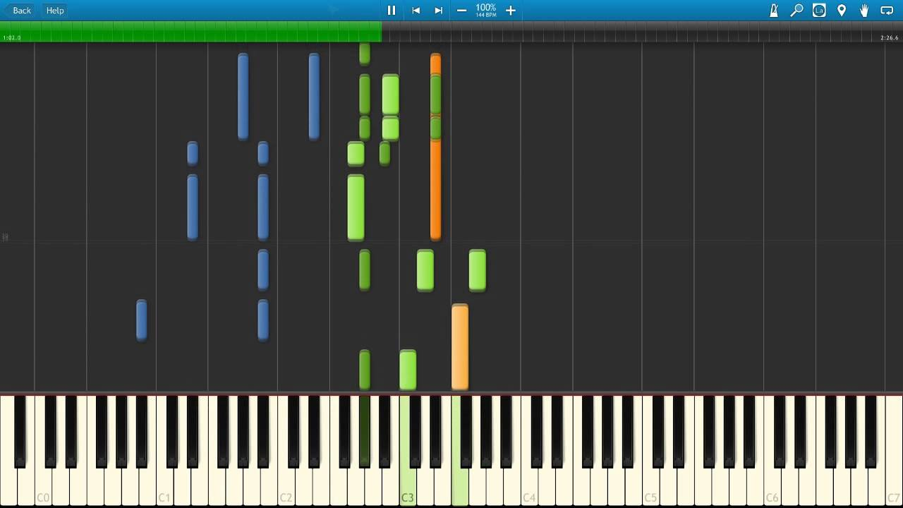 Tiptoe throught the tulips piano tutorial youtube.