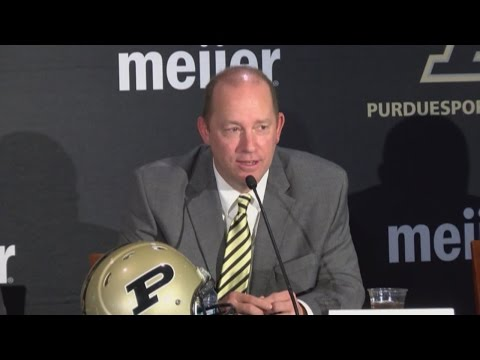 Jeff Brohm named as Purdue's head football coach