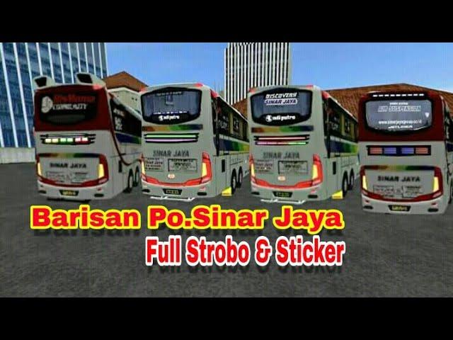 Sinar Jaya rasa Jetliner | BUSSID CHANEL