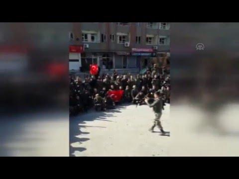 """Cizre'deki operasyonun ardından güvenlik güçlerinin """"komando andı"""""""