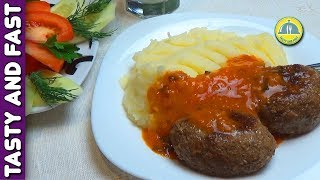 How Make Meatloaf from Pork and Beef. The recipe for Meatloaf | TastyFastCookRO cutlet recipes