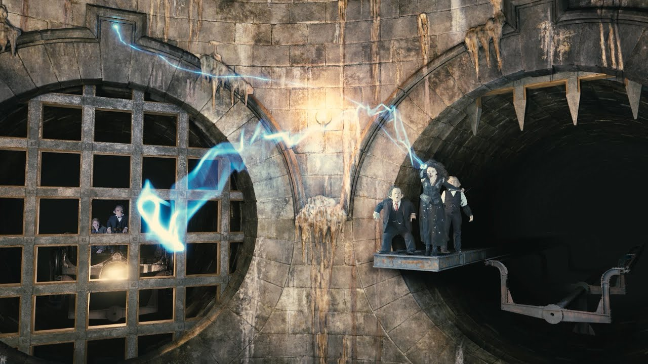 Image result for Harry Potter and the Escape from Gringotts