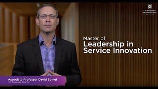 UQ Master of Leadership in Ser…
